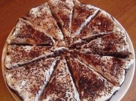 Лёгкий торт «Тает во рту»