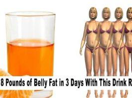 Попробуйте этот напиток и потеряйте 4 кг всего за 3 дня !!!