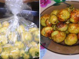 Картофель в рукаве — новый, вкусный и быстрый рецепт