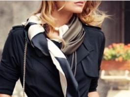 12 вариантов элегантно завязать платок на шее