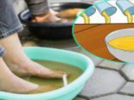 Делайте ванночку для ног в уксусе раз в неделю, и вы увидите, как исчезнут все ваши болезни!