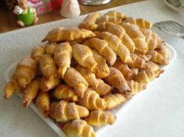 Рогалики по бабушкиному рецепту. Нежные и очень вкусные