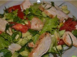 5 вкусных фитнес-салатов для плоского живота