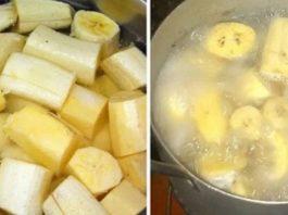 Просто закипяти бананы с корицей и выпей перед сном