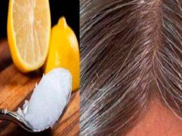 Смесь кокосового масла и лимона: и седые волосы обретут свой натуральный цвет